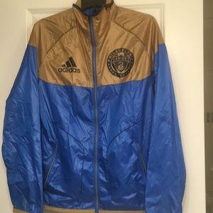 Philadelphia Union Women's Soccer Rain Jacket